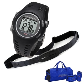 Ovente BHS7000 Heart Rate Monitor with Chest Strap (Beatech Collection) and Russell Athletic 3-piece Workout Set