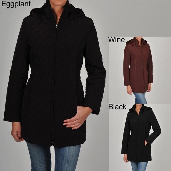 Esprit Juniors Quilted Detachable Hood Jacket