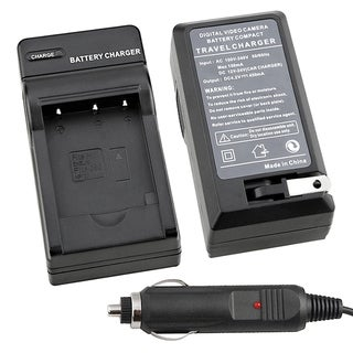 Compact Battery Charger Set for Nikon EN-EL19 with Smart LED Indicator