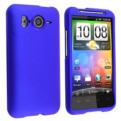 Blue Rubber-coated Case for HTC Inspire 4G/ Desire HD/ Ace