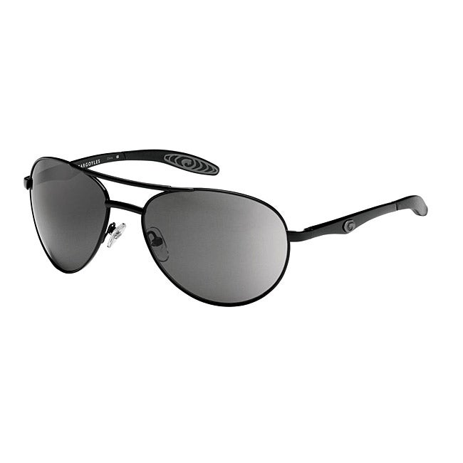 Gargoyles Men's 'Alfa' Aviator Sunglasses