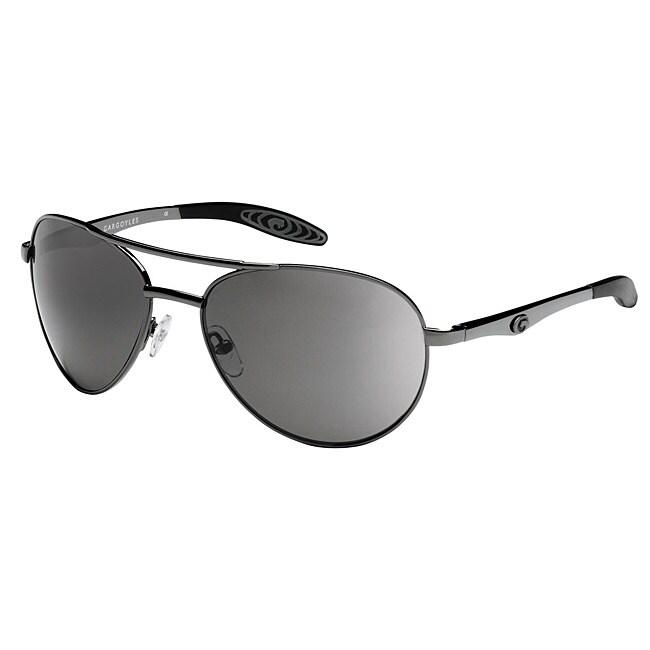 Gargoyles Men's 'Alfa' Polarized Aviator Sunglasses