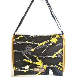 Two Tree Designs Medium Bird Messenger Bag