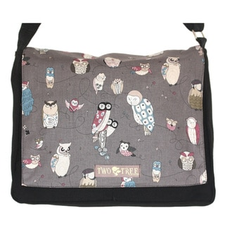Two Trees Design Medium Hoot Owl Messenger Bag