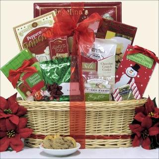 Tidings of Joy Small Christmas Holiday Gourmet Gift Basket