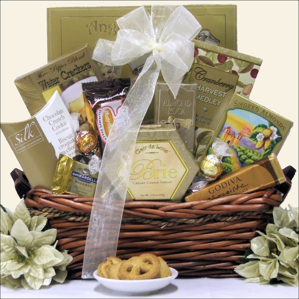 Holiday Delights Holiday Gourmet Gift Basket