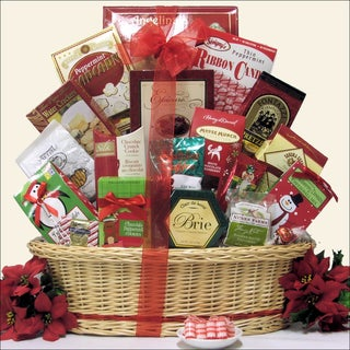 Tidings of Joy Large:  Gourmet Holiday Christmas Gift Basket