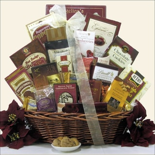 Peace & Prosperity Large Christmas Holiday Chocolate Gift Basket