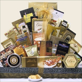 The Holiday VIP Christmas Holiday Gourmet Gift Basket