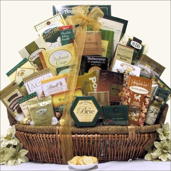 Holiday Gallant Affair Christmas Holiday Gourmet Gift Basket