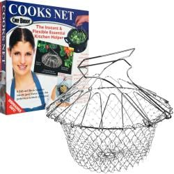 Chef Buddy Stainless Steel Steam/ Fry Basket