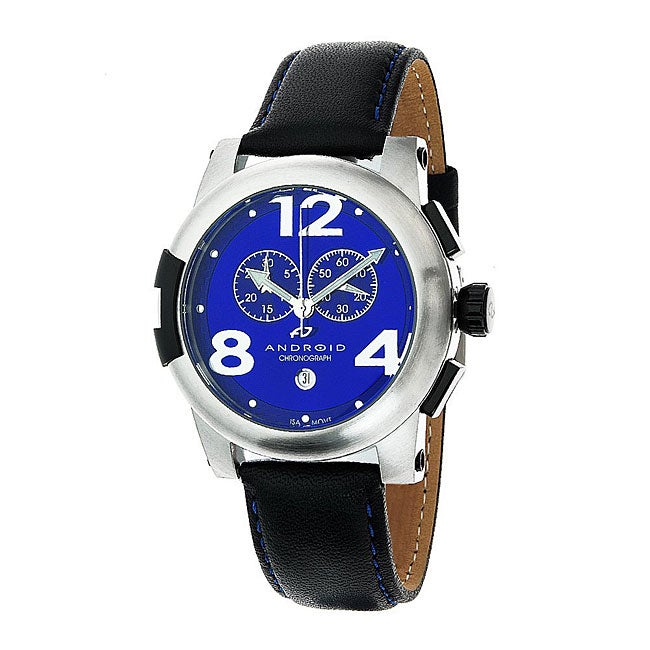 Android Stainless Steel Blue Intercontinental Chronograph Watch