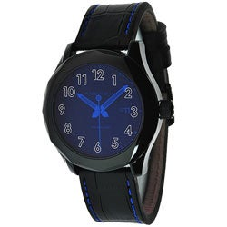 Android Stainless Steel Men's Euxine Blue Crystal Watch