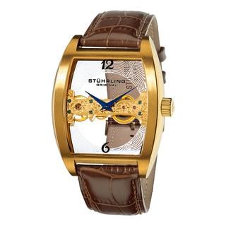 Stuhrling Original Men's Millennia Ravine Automatic Mechanical Watch