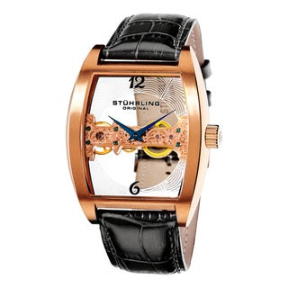Stuhrling Original Men's Millennia Ravine Mechanical Watch