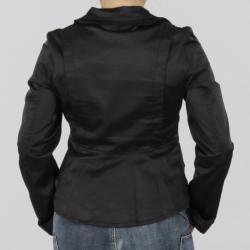 Venezia Milano Women's Classic Brit Black Jacket