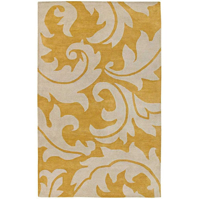Hand-Tuffed Bellona Wool Area Rug (8' x 11')