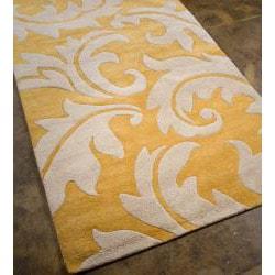 Hand-Tuffed Bellona Wool Area Rug (8' x 11')