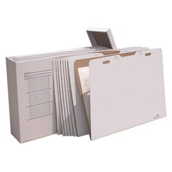 VFile 30 in x 42 in Flat Items Storage Box