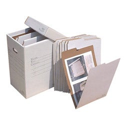 VFile 12 in x18 in Flat Items Storage Box