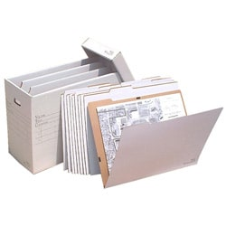 VFile 18 in x 24 in Flat Items Storage Box