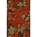 Hand-tufted Abstract Floral Wool Rug (8' x 11')