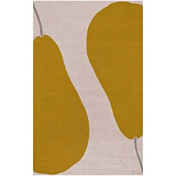 Hand-hooked Maius Abstract Rug (7'6 x 9'6)