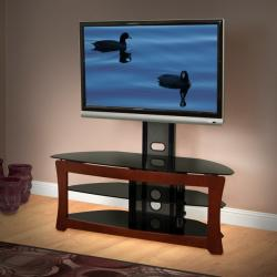 Avista Sovereign Plus Rich Espresso 50-in Foldtech TV Stand with Multi Purpose Mounting System