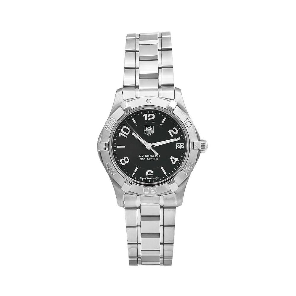 Tag Heuer Women's WAF1310.BA0817 Aquaracer Black Dial Stainless Steel Watch