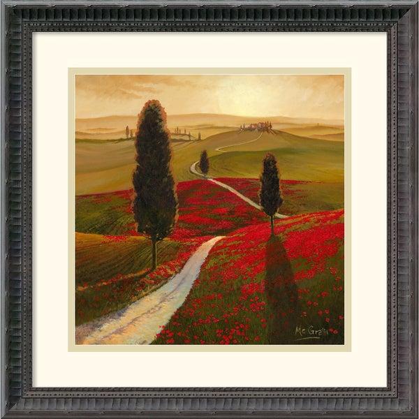 Thomas Mcgrath 'Tuscany' Framed Art Print