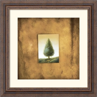 Scott Duce 'Green Tree' Framed Art Print
