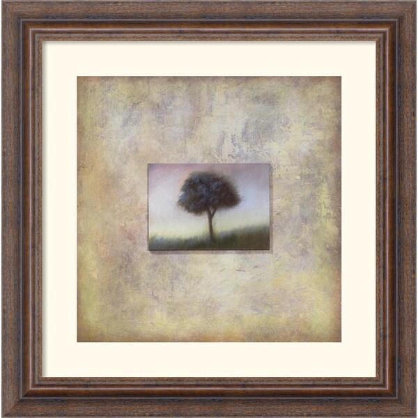 Scott Duce 'Mist Marker' Framed Art Print