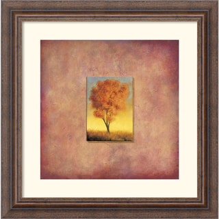 Scott Duce 'Ashburn Tree' Framed Art Print