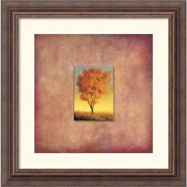 Scott Duce 'Ashburn Tree' Framed Art Print