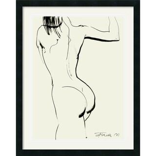 Sergei Firer 'Nude I' Framed Art Print