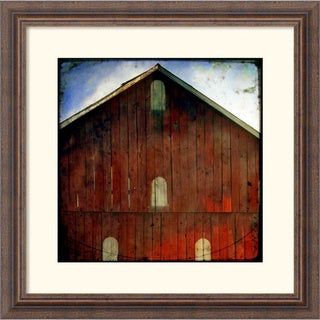 Linda Plaisted 'Animal Farm' Framed Art Print