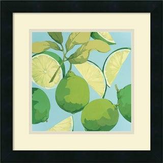 Martha Negley 'Fresh Limes' Framed Art Print