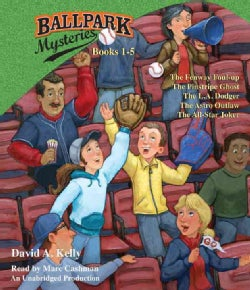 Ballpark Mysteries Collection: The Fenway Foul-Up / the Pinstripe Ghost / the L.A. Dodger / the Astro Outlaw / the... (CD-Audio)