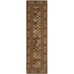 Nourison Liz Claiborne Radiant Impression Multicolor Rug (2'3 x 8')