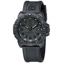 Luminox 3Men's Navy Seal Black Out Watch