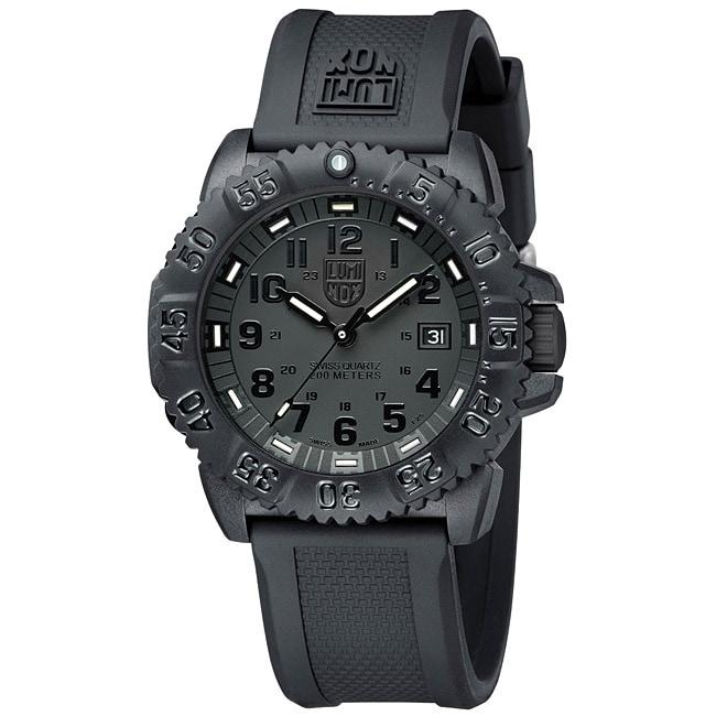 Luminox Men's Colormark Blackout Watch