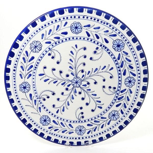 Azoura Design Ceramic 15-inch Platters (Tunisia)