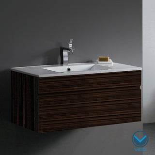 Vigo 35-Inch Single Bathroom Vanity Cabinet