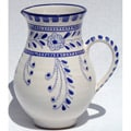 Azoura Design Ceramic 54-oz Pitcher (Tunisia)