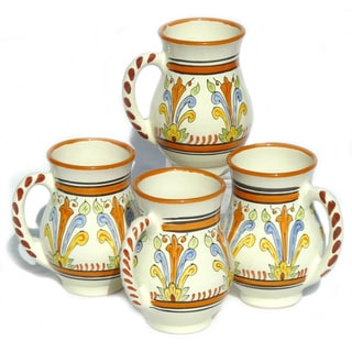 Set of 4 Sauvage Design Large 16-oz Mugs (Tunisia)