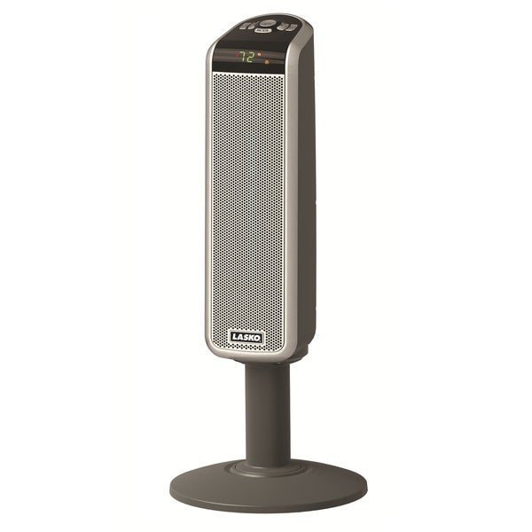 Lasko 5397 Ceramic Pedestal Heater with Digital Remote Control