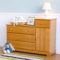 DaVinci Kalani Combo Dresser in Oak