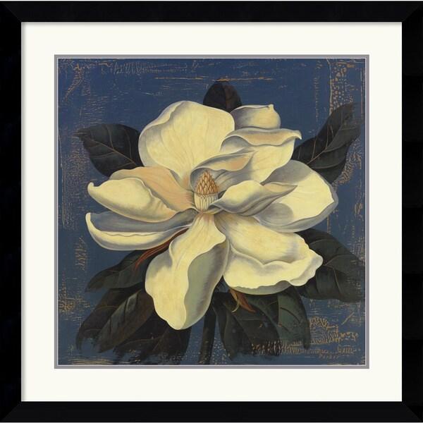 Curtis Parker 'Glowing Magnolia' Framed Art Print