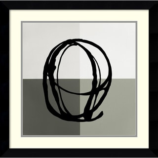 Gregory Garrett 'Swirl Pattern V' Framed Art Print