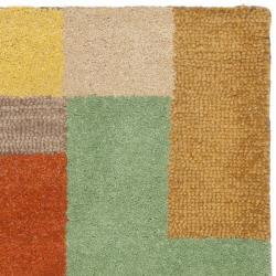 Safavieh Handmade Soho Modern Abstract Multicolored Wool Rug